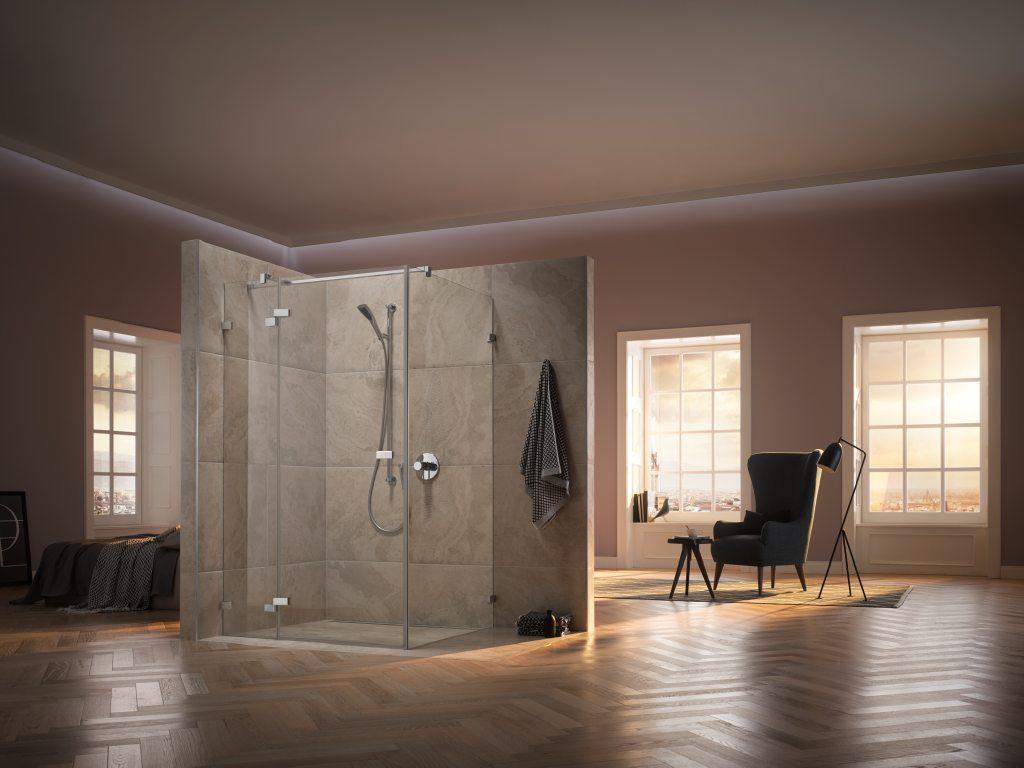 Bad mit Dusche © Kermi